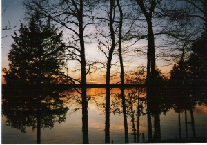 Sunset at Kentucky Lake