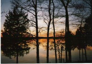 Sunset at Kentucky Lake