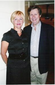 Barbara Bonney and TK at an AIMS Masterclass
